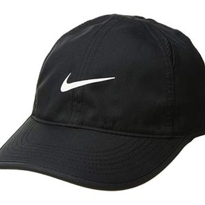 Women's Featherlight Dri-Fit Black Cap Hat